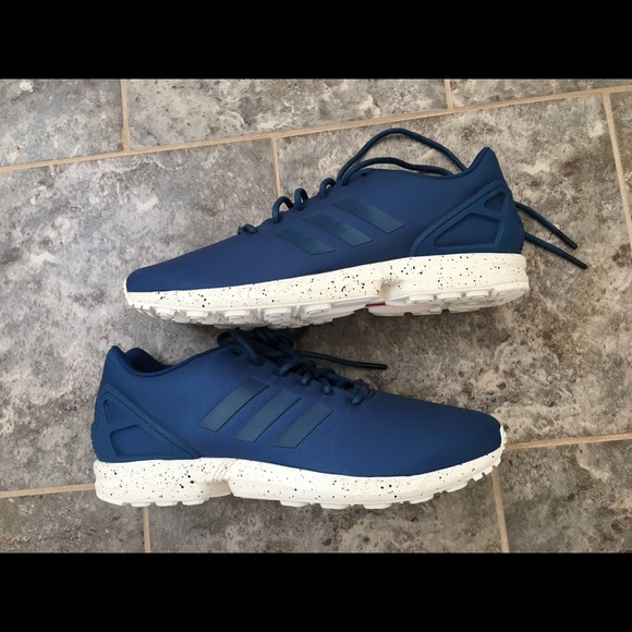 123a1e49a2dd adidas Other - adidas ZX Flux Steel Tech Utility Blue Size 13
